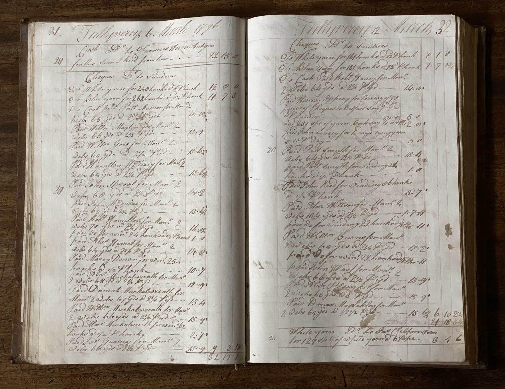 Tullyveery House Farm Record Books